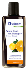 Spitzner Aroma Haut und Massage�l Zitrone Orange