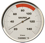 Sauna Thermometer 130 mm
